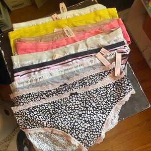 14 Pairs Victoria's Secret Undies. Sz L $2/16-5/25